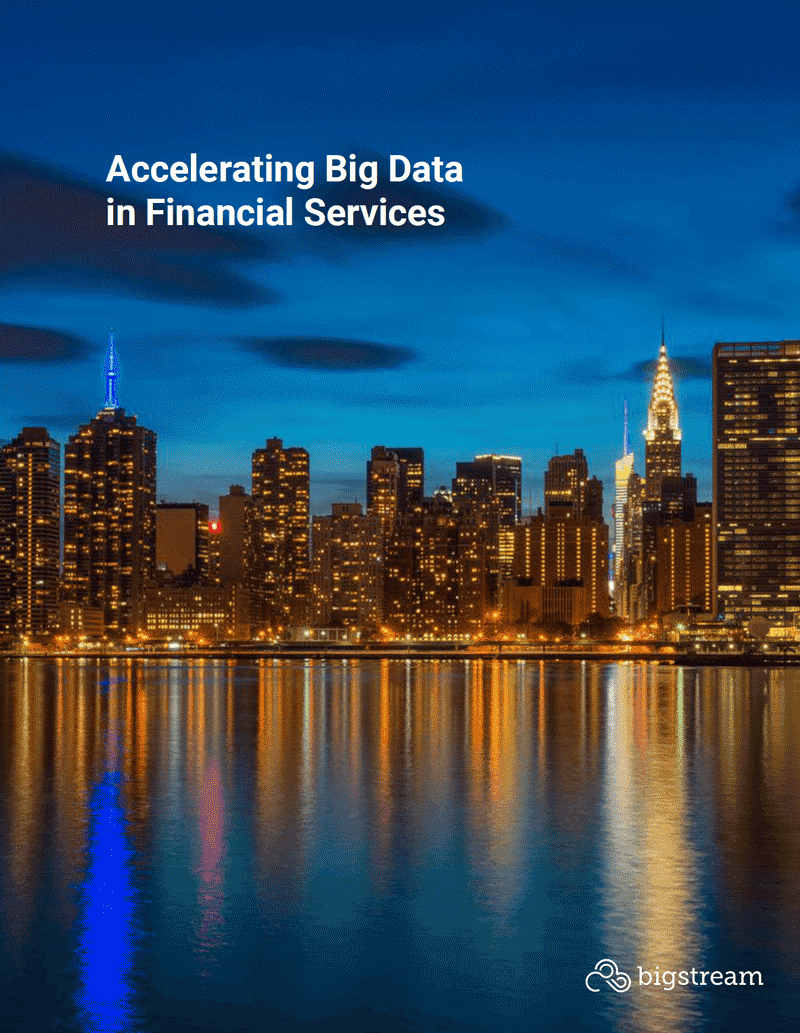Accelerating Big Data in Financial Services
